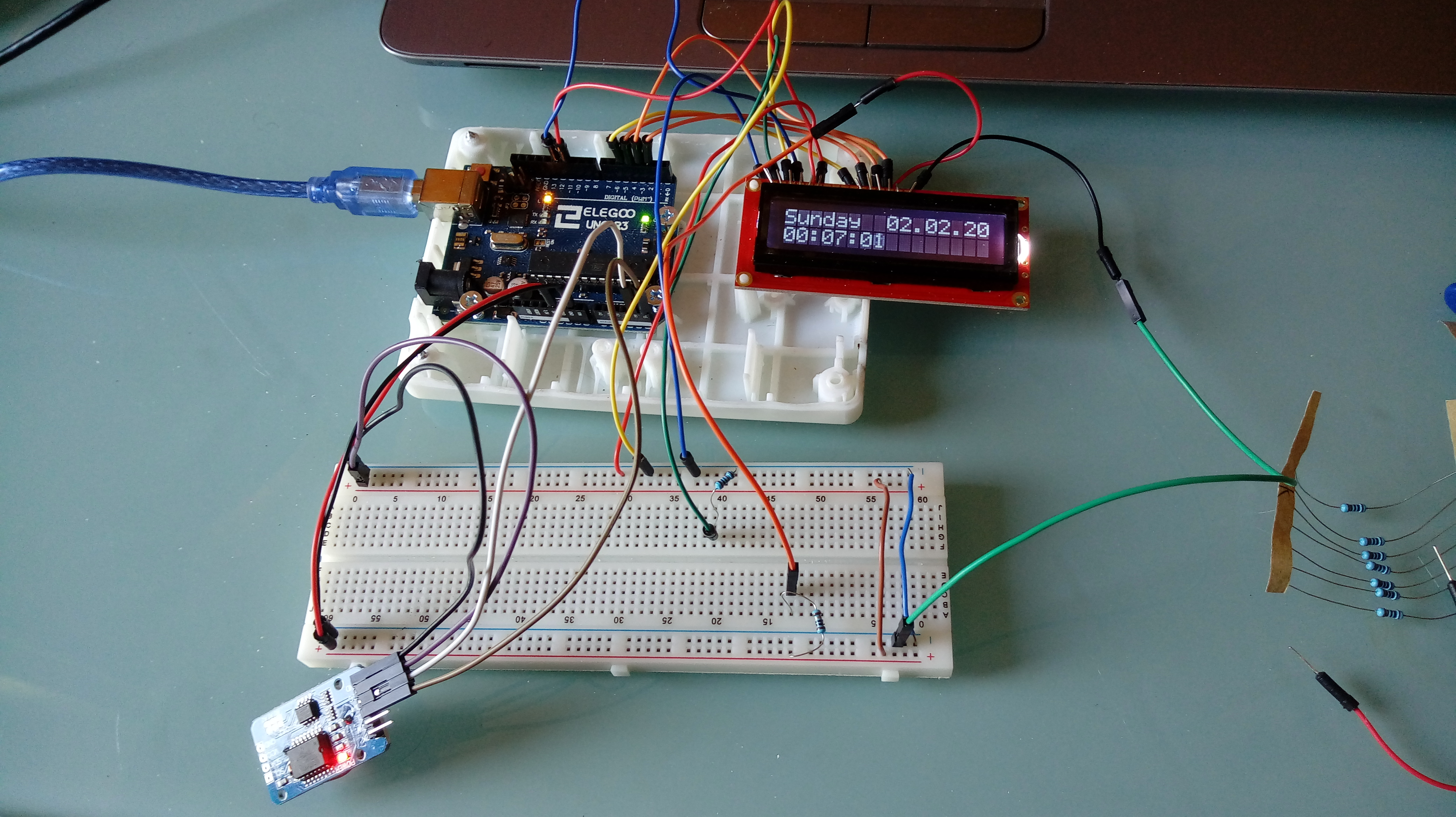 Picture of Adding an LCD Screen