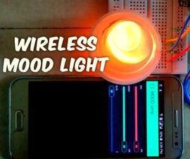 Wireless MOOD light with Arduino & BLYNK app