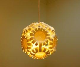 Paper cup lantern