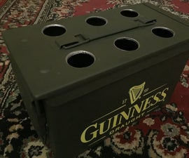 Ammo Can Bottle Caddy