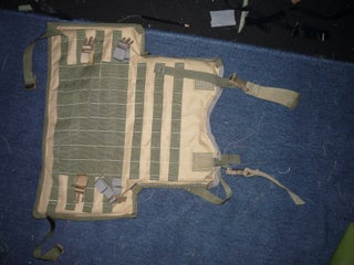 Project: MOLLE. Codename: LBE Vest. M1