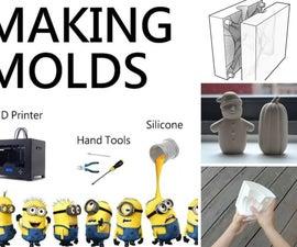 Mold Making: Silicone | Plaster | Casting | Acrylic | Finishing