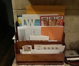 Counter-top Mail Tray