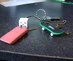 Make a Keychain Out of Anything. Cheap N' Easy!