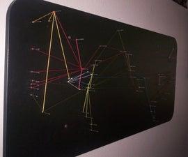 Destination String Map Art