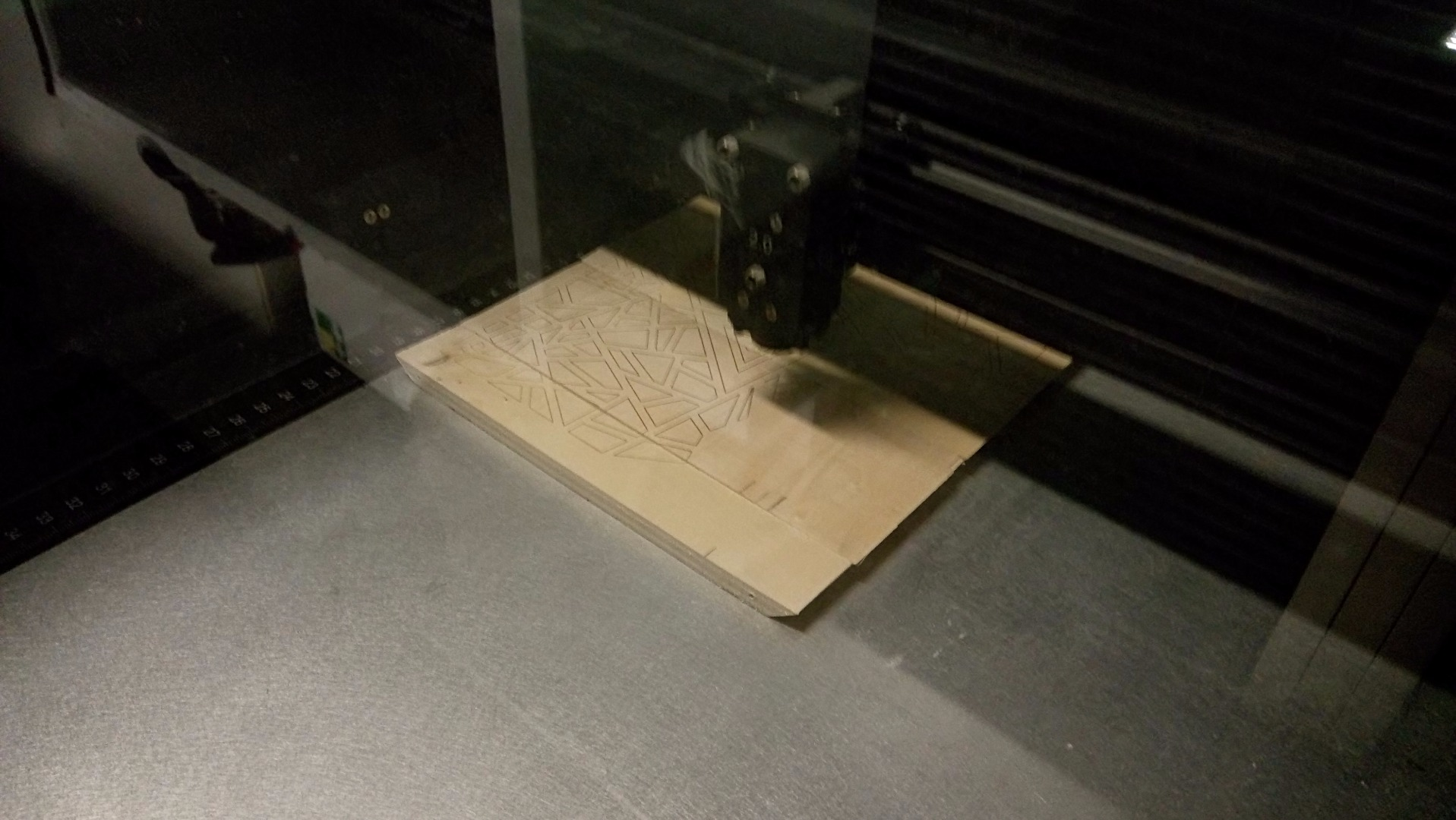 Picture of Laser Engraving Some Graphics