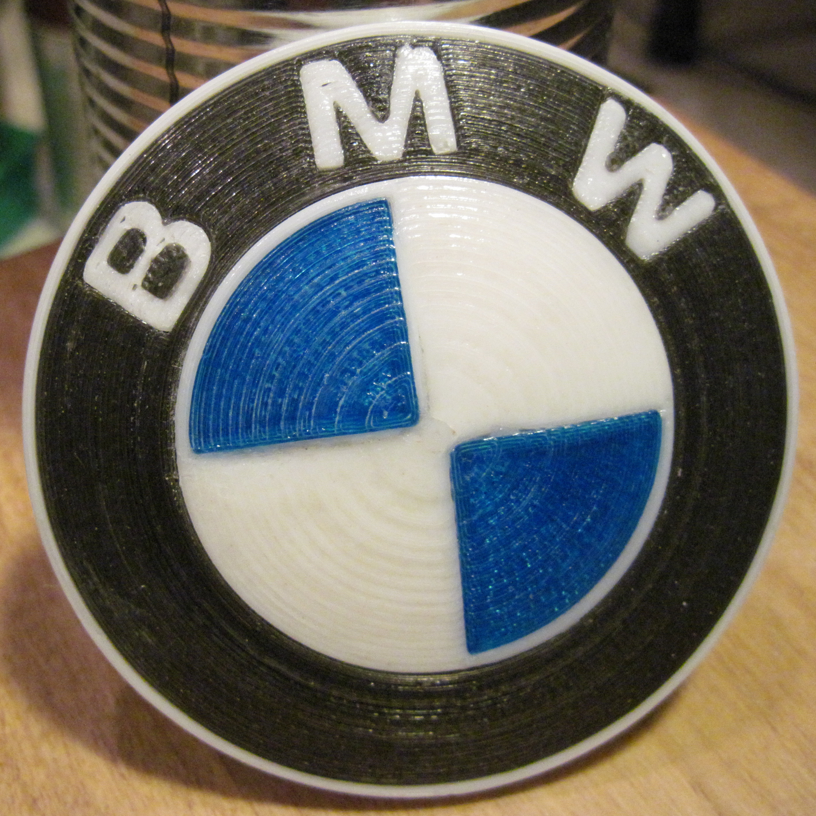 Picture of 3D Printed BMW Roundel