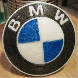 3D Printed BMW Roundel