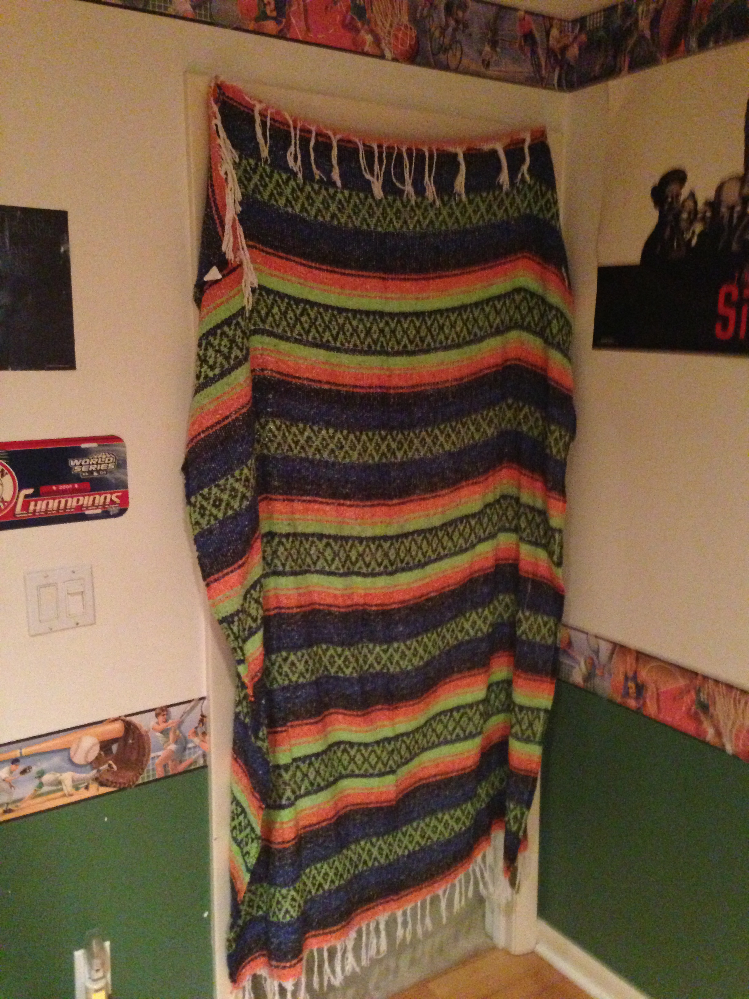Picture of How to Make a Blanket Door