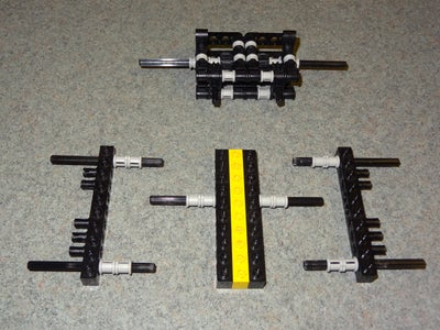 Lego RC Track Rover