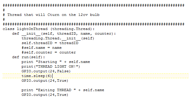 Picture of Python Threads