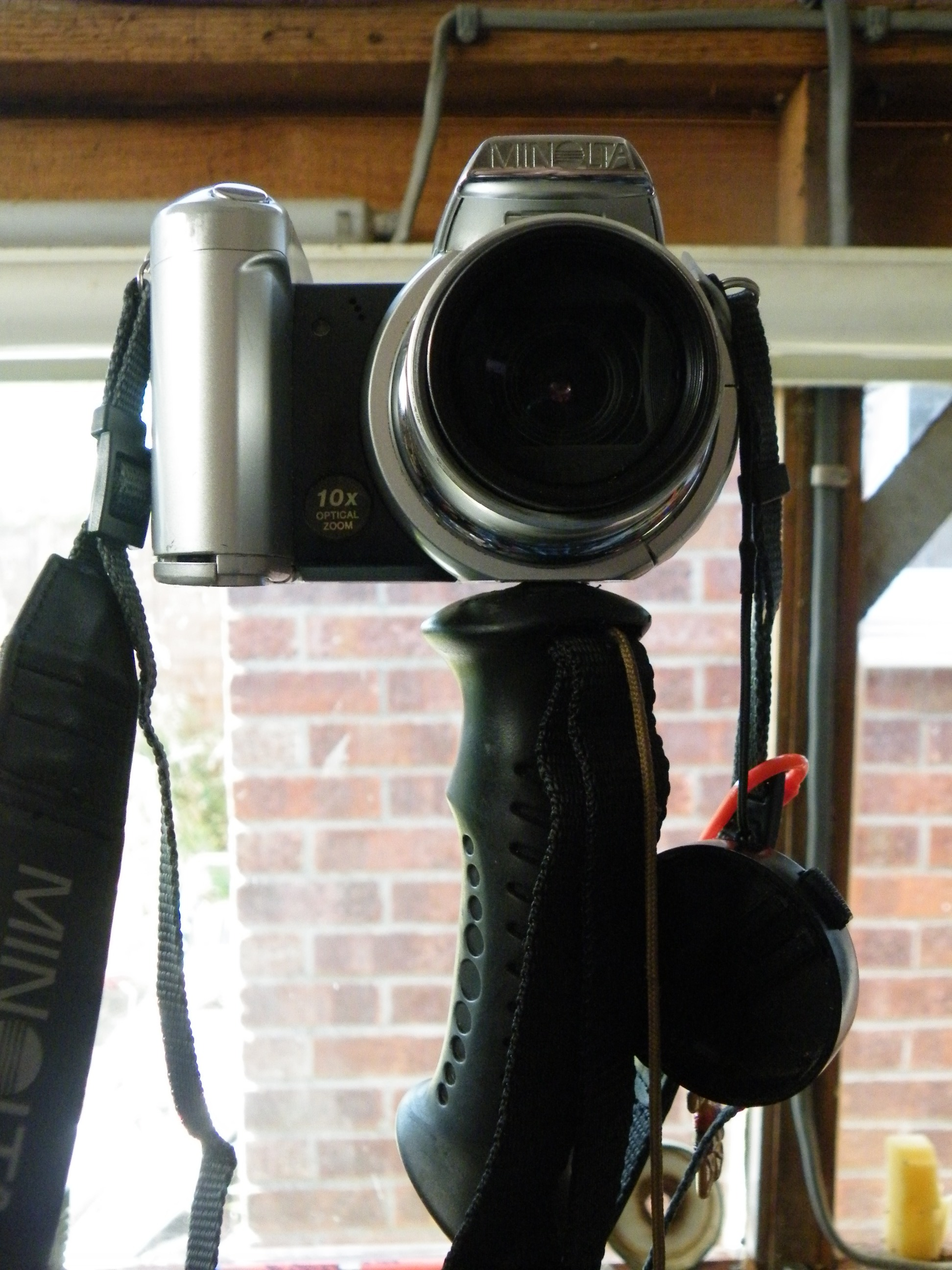 Picture of Make a Monopod From a Walking Pole, Using Sugru.
