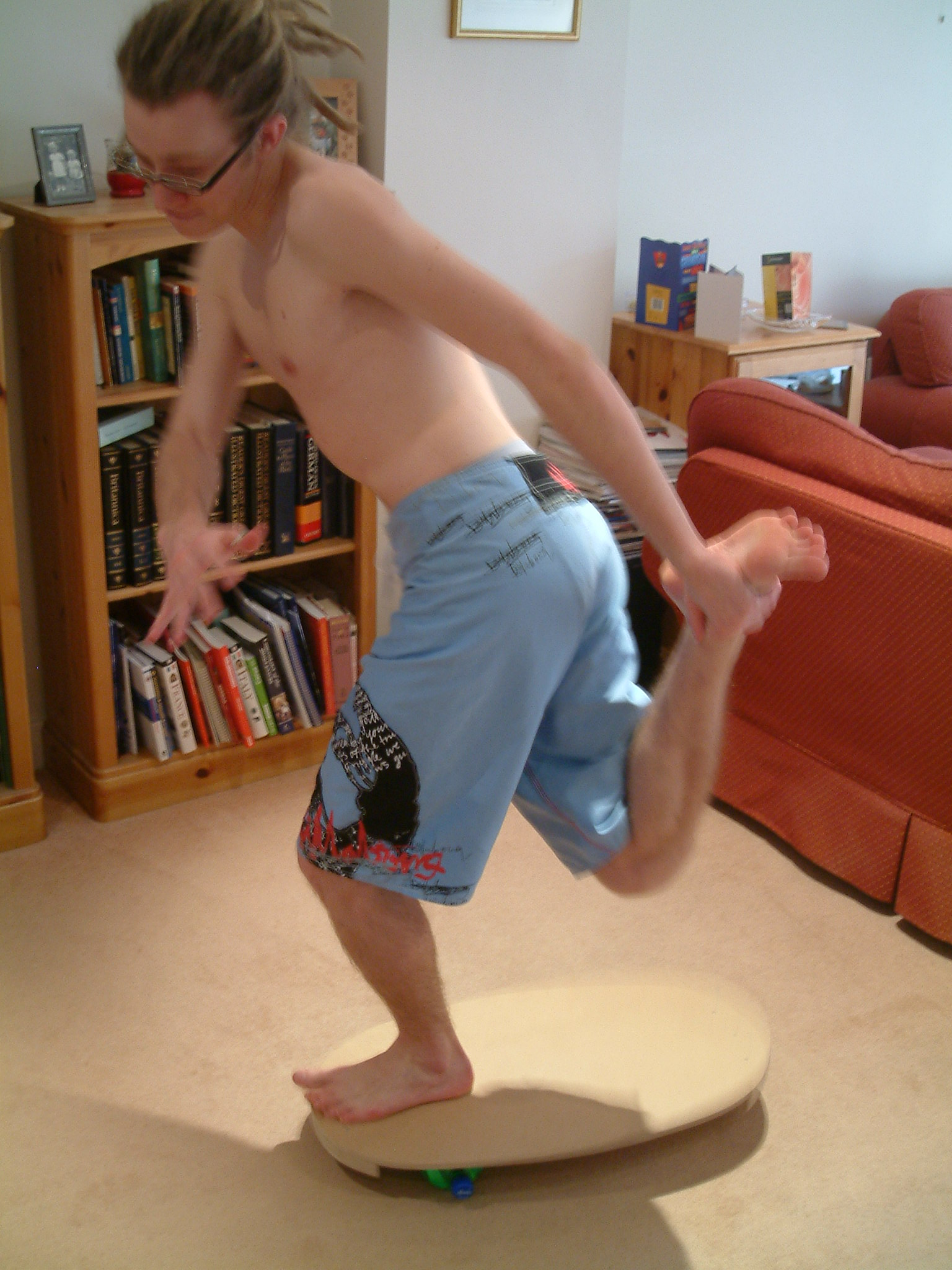 Picture of Balance Board for Sports Training and General Fun!
