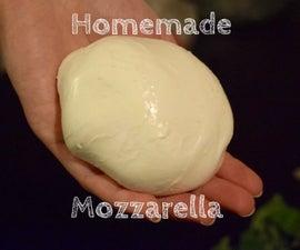 Delicious Homemade Mozzarella