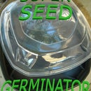AWESOME AppleBee's Carside To-Go Container Seed Germinator / Starter!!!!!!