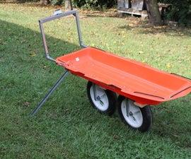 All Terrain Wheelbarrow, Cart, No Welding