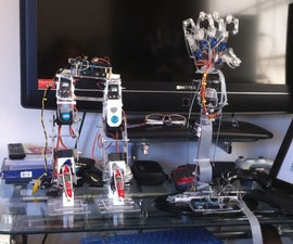 Motion Controlled Robotic Arm