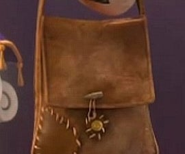 leather Flynn Rider's bag
