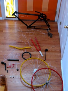 Disassembly of Bike