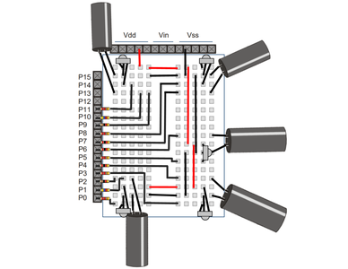 Five IR Pairs - Circuit