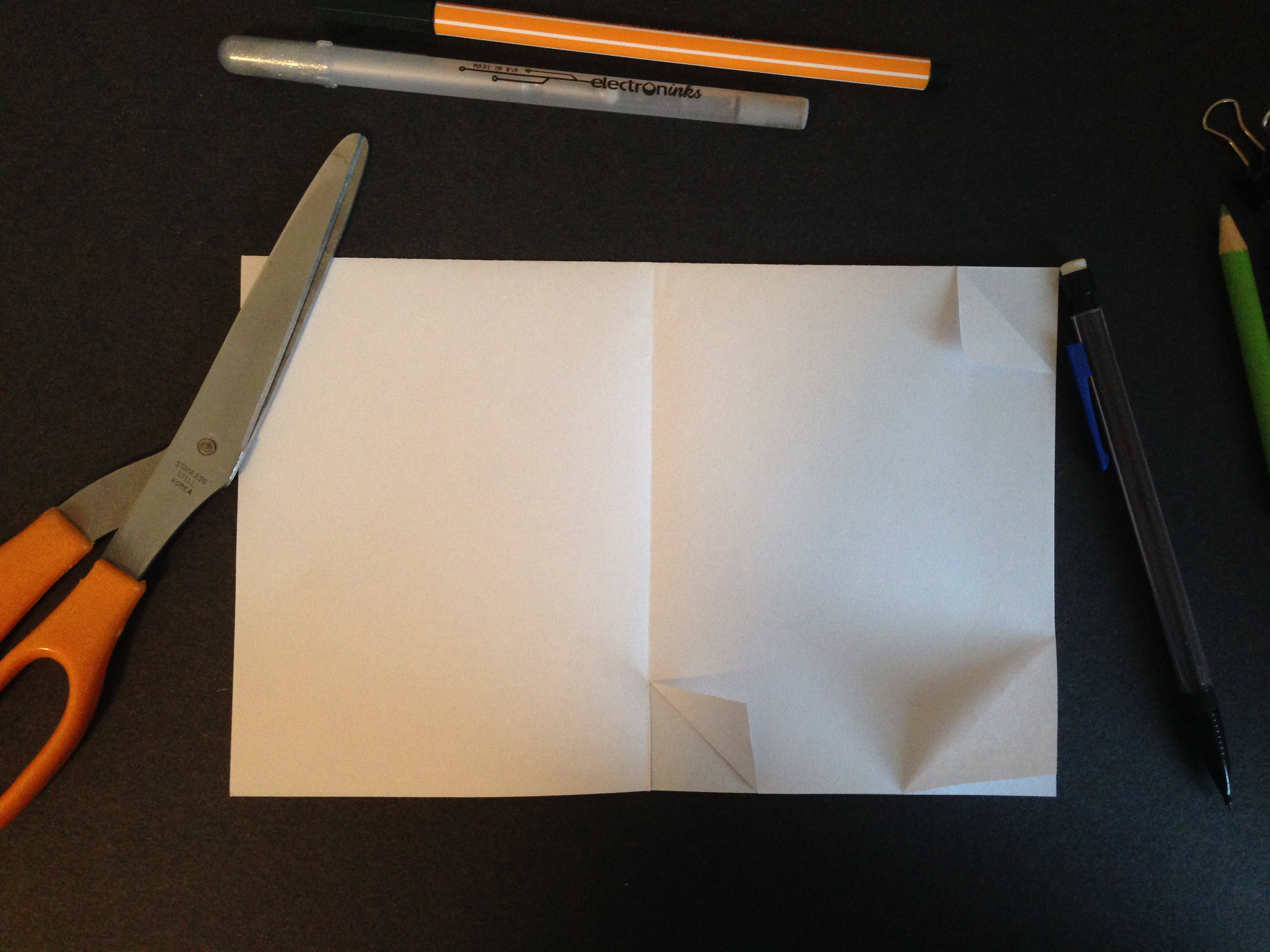 Picture of Fold and Cut the Card