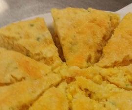 Cheesy Corn Bread W/ Jalapeño