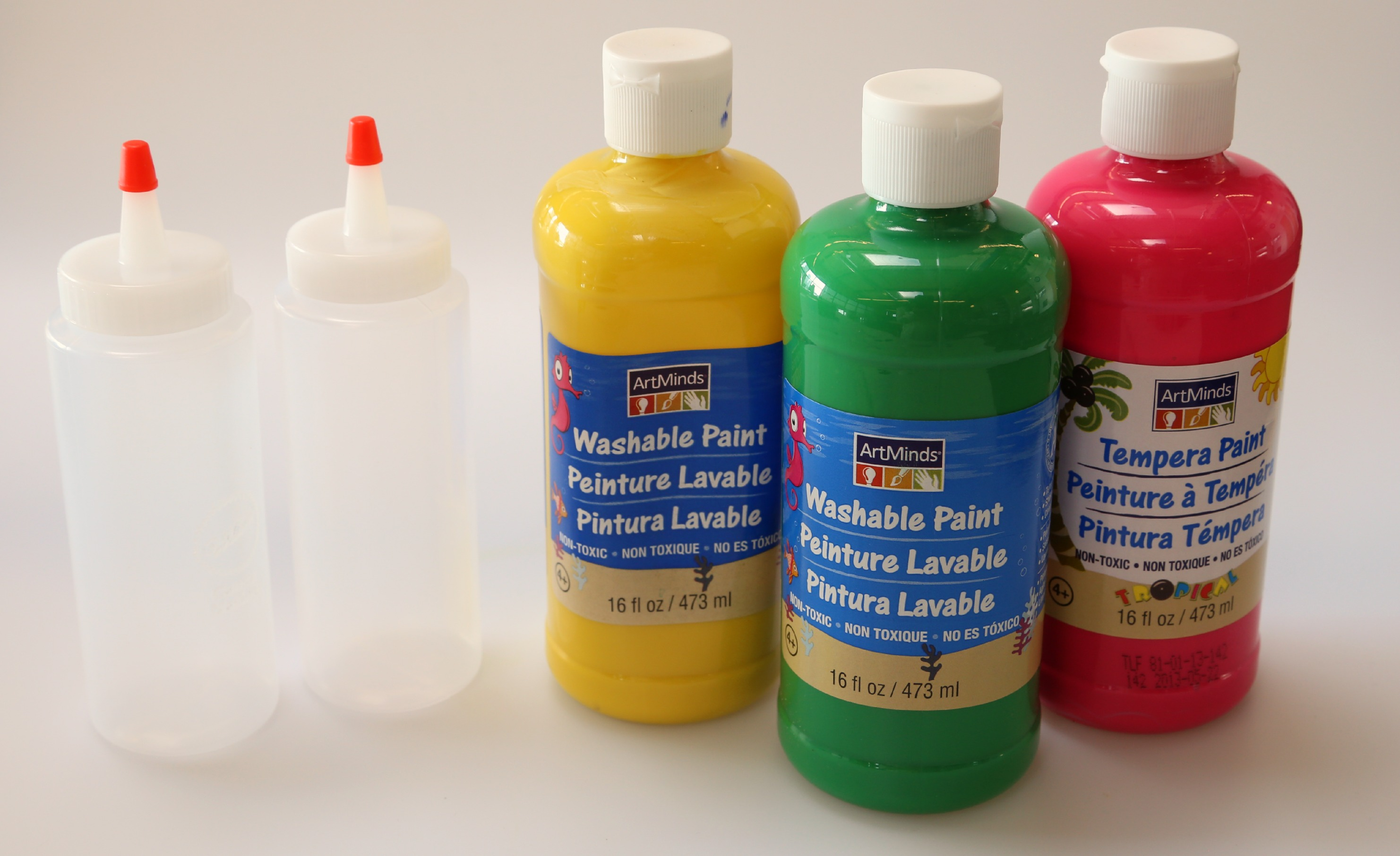 Picture of Gathering Paint Supplies