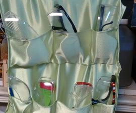 Soft Pockets Safety Glasses Storage