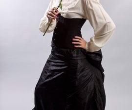 How to make a Victorian/Steampunk 4 Gore Underskirt