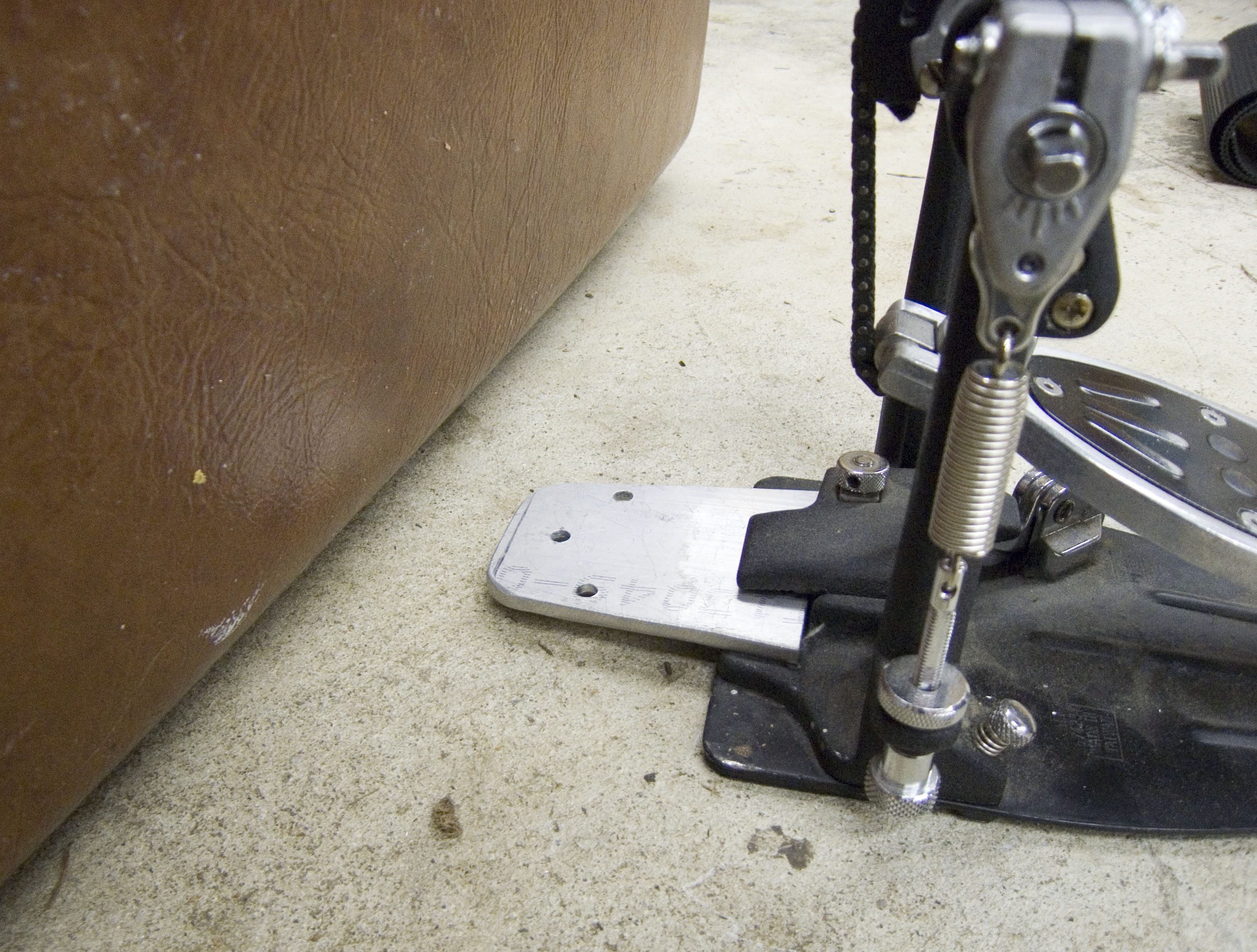 Picture of Attaching Bass Drum Pedal
