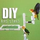 DIY BIRD STAND