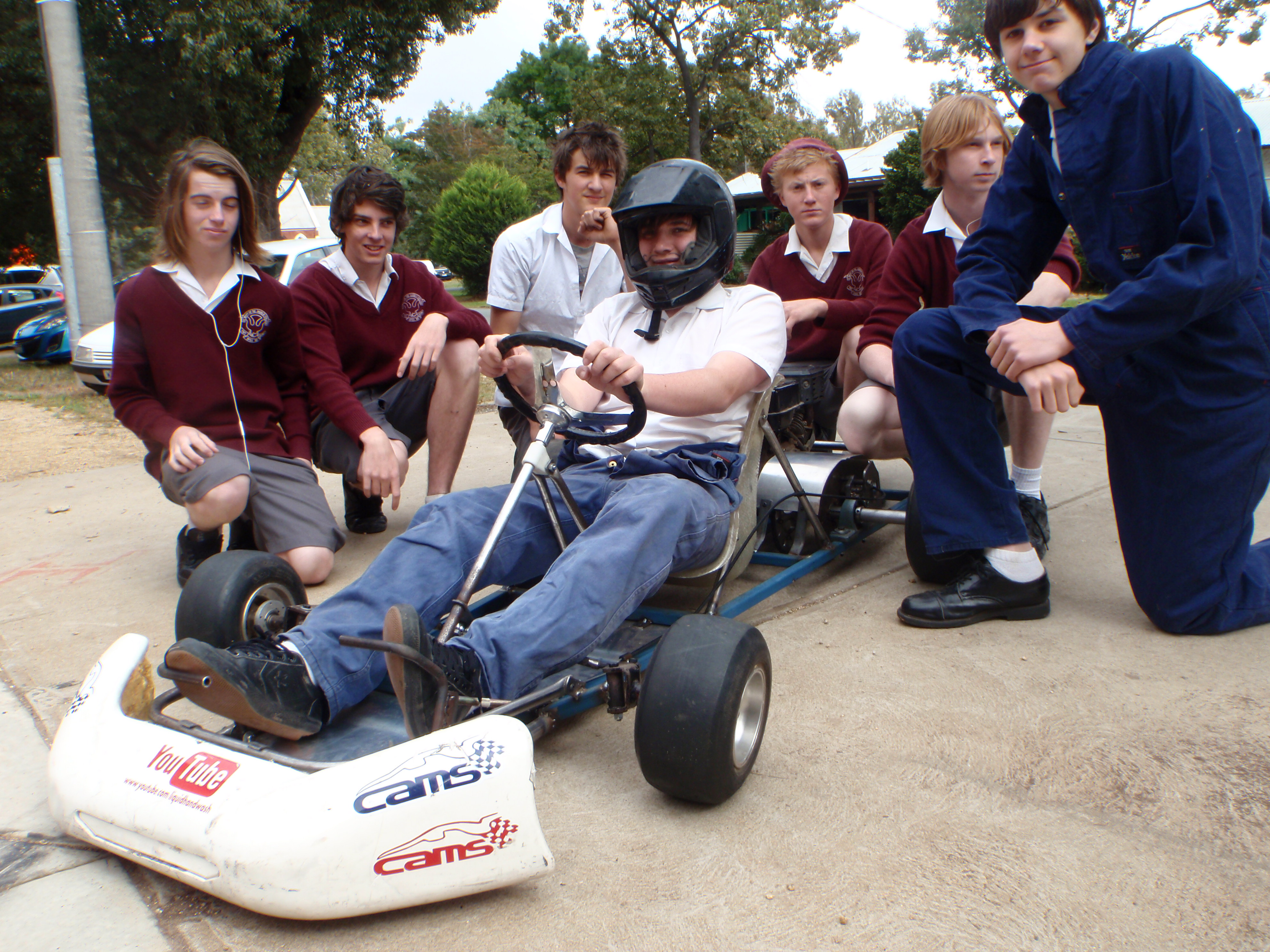 Picture of How to Design and Build a Go Kart.