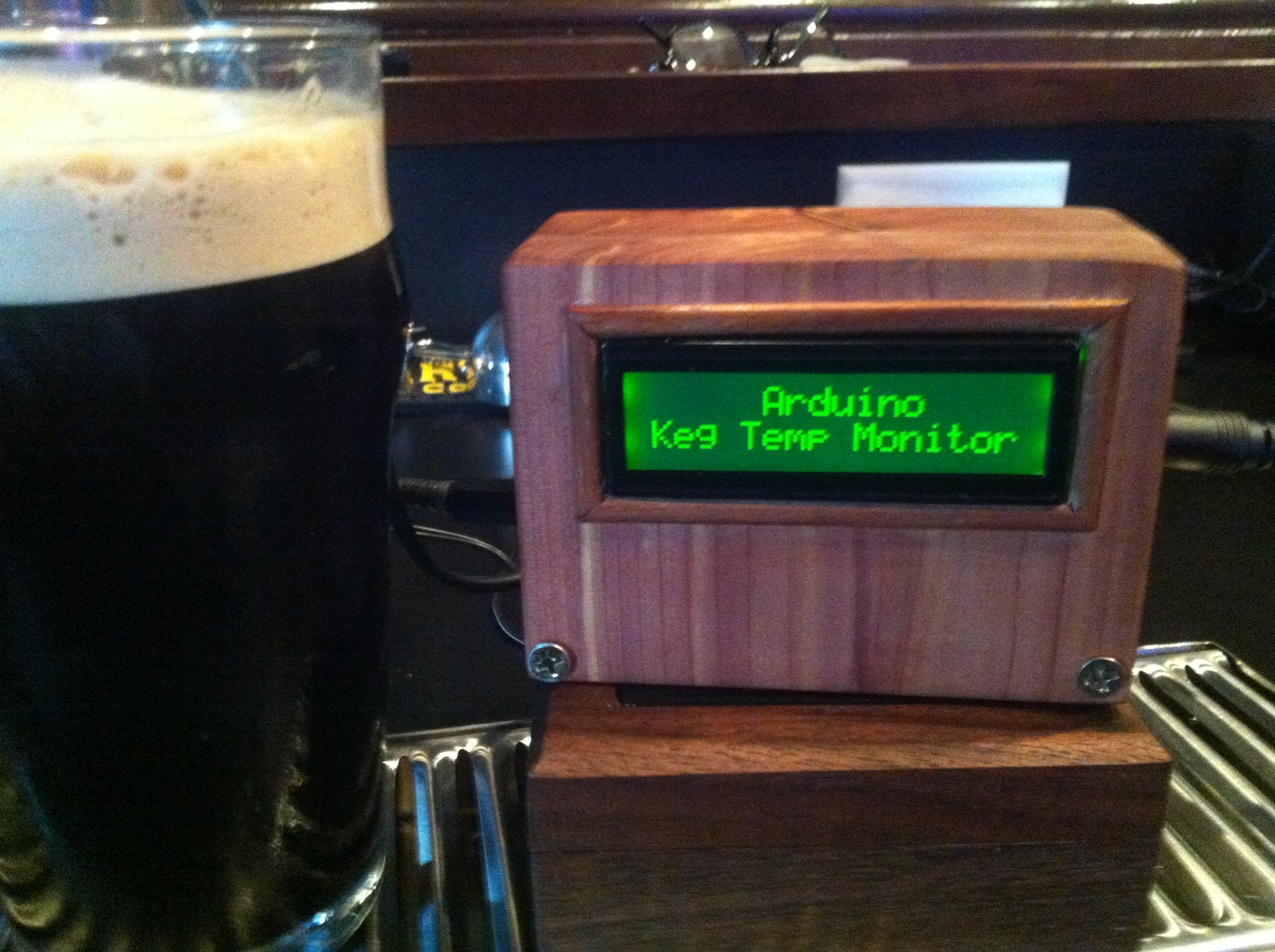 Picture of *duino Keg Temp Monitor, or the Quest for the Perfect Pint