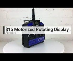 $15 Motorized Rotating Display Turntable