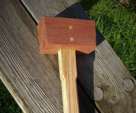Make a Wooden Mallet Easily With Limited Tools