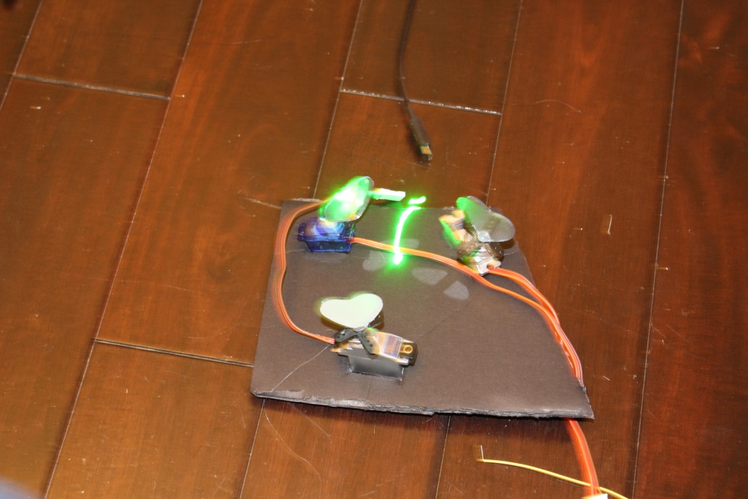 Picture of Programmable Laser Light Show --  Arduino Controlled