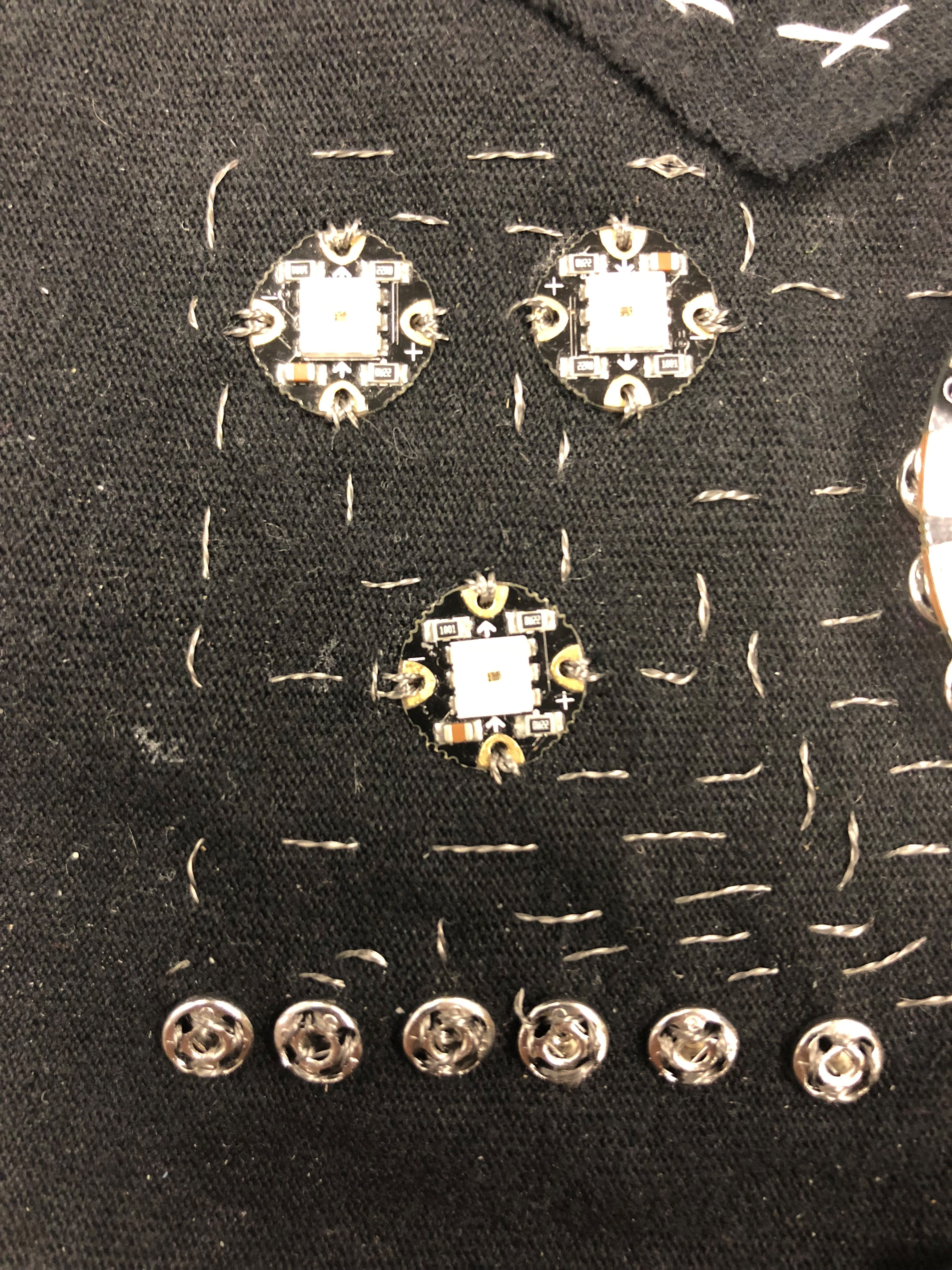 Picture of Assembling a Prototype: Sewing Part 3