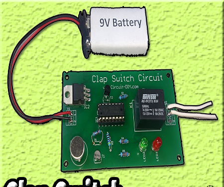 How to Make Clap Switch | DIY Project | Home Automation | Electronics Projects