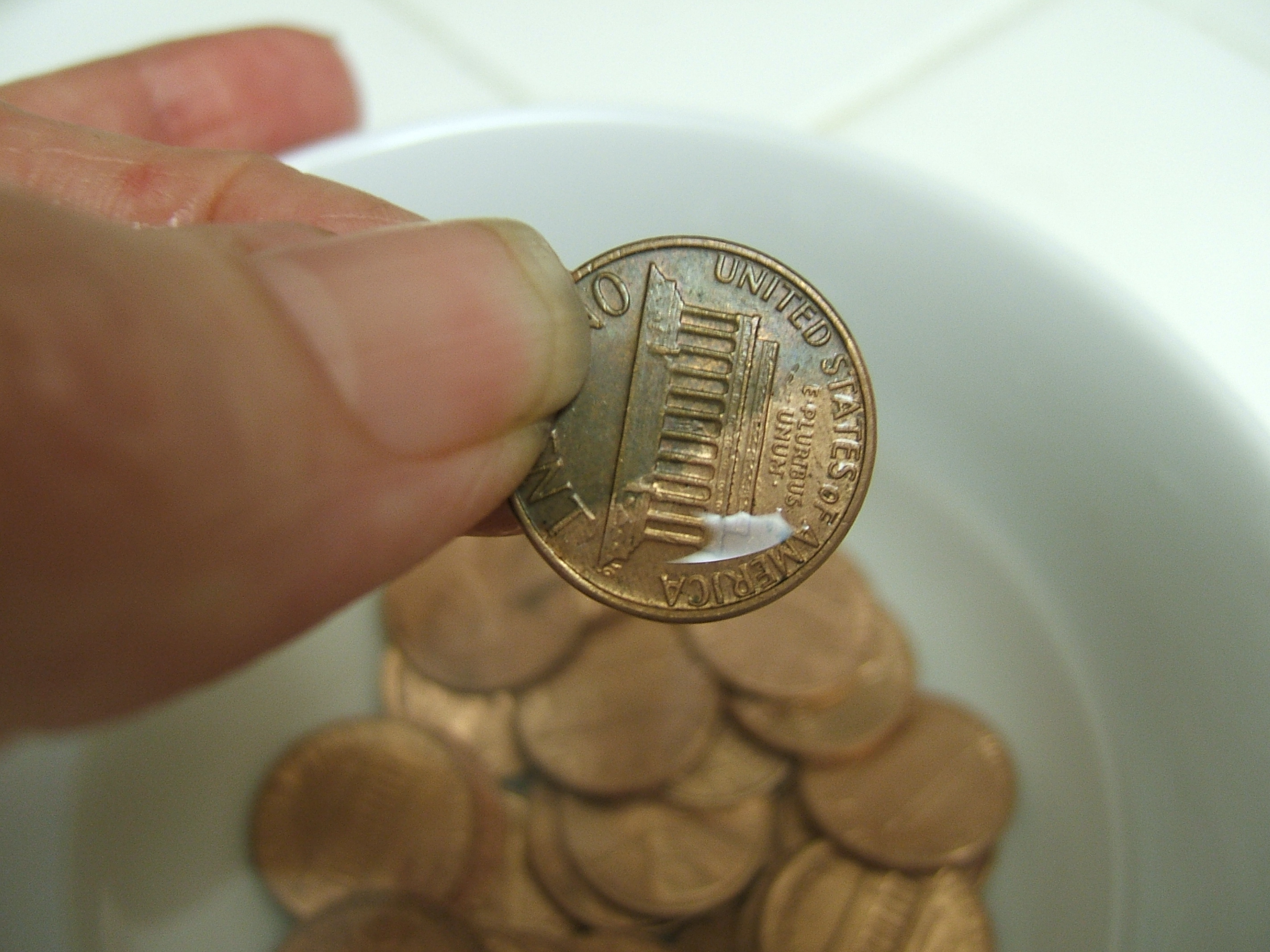 Picture of Clean Pennies