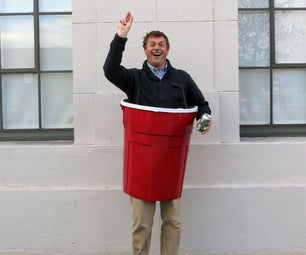 Solo Cup - Beer Pong Costume