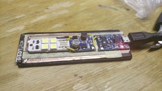 Connecting a Battery and Test