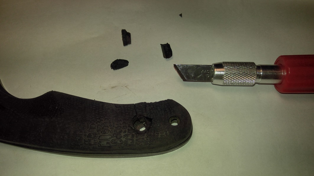 Picture of Reshape Your Old Scales to Make a Template for Your New Scales.