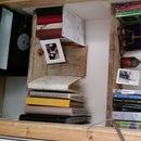 Scaffold board shelves