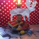 Scandinavian Reindeer Decoration
