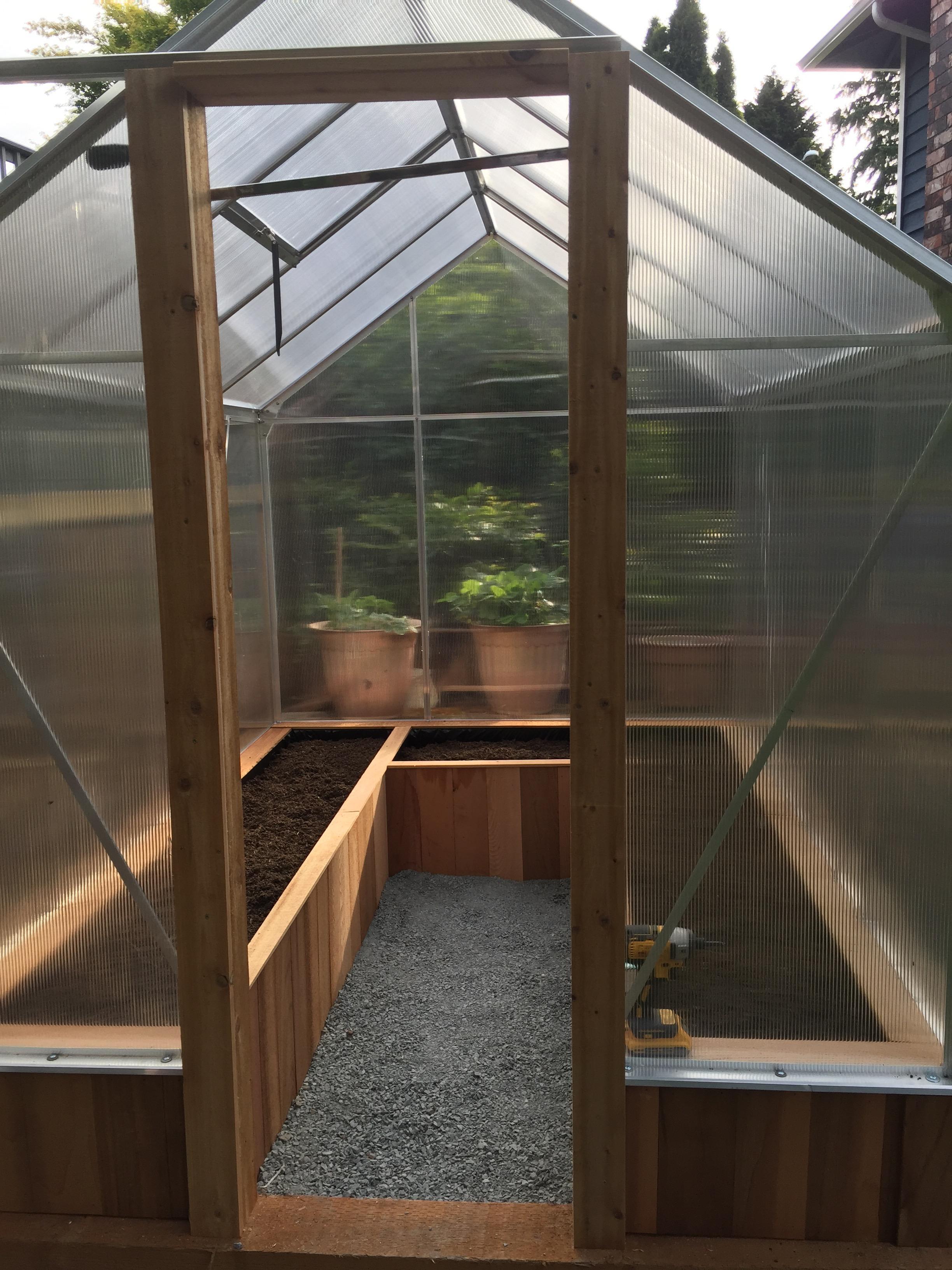 Picture of Building the Door Frame