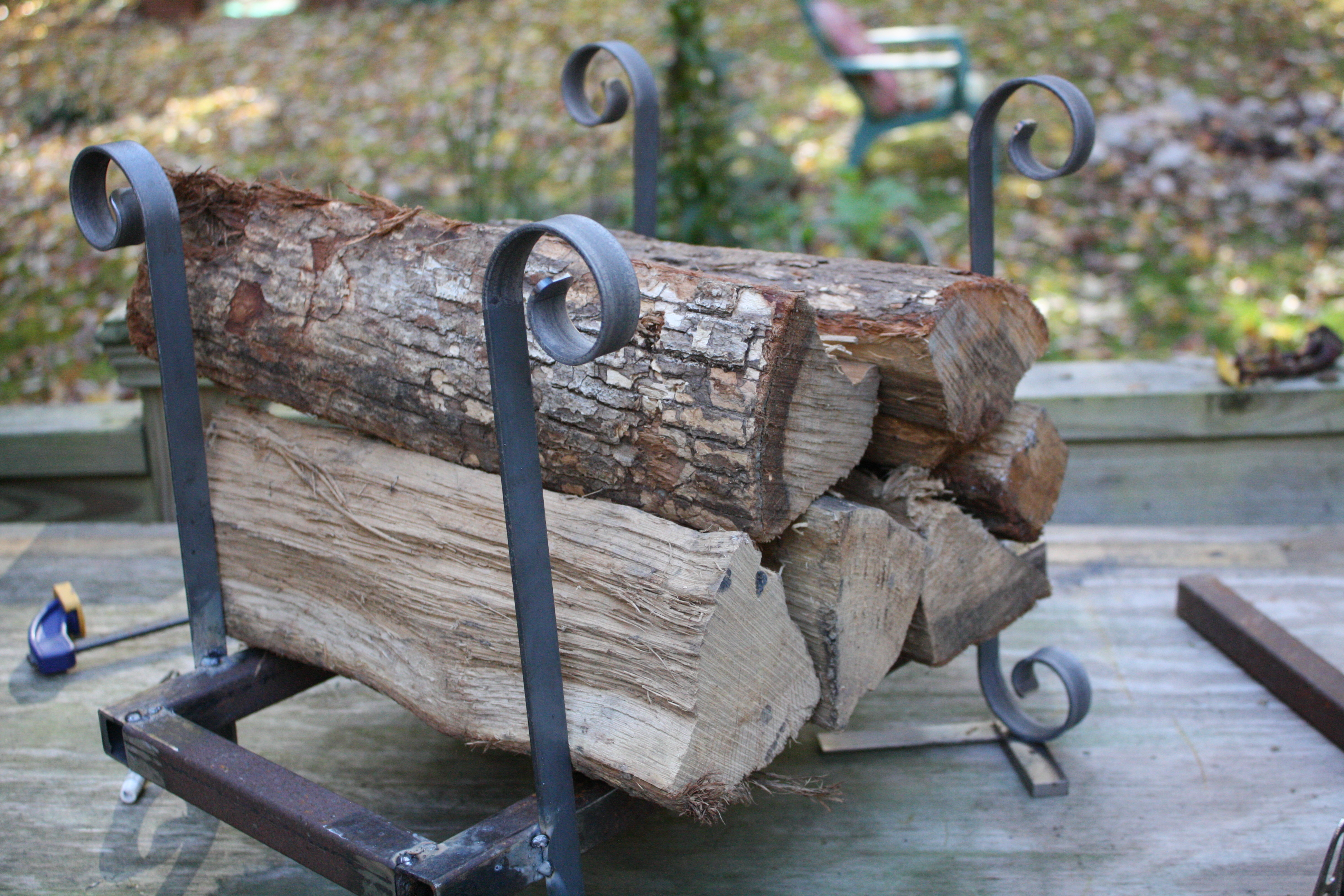 Picture of Metal Firewood Rack