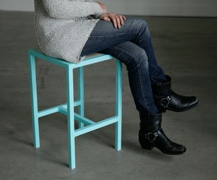 Simple Welded Steel Stools