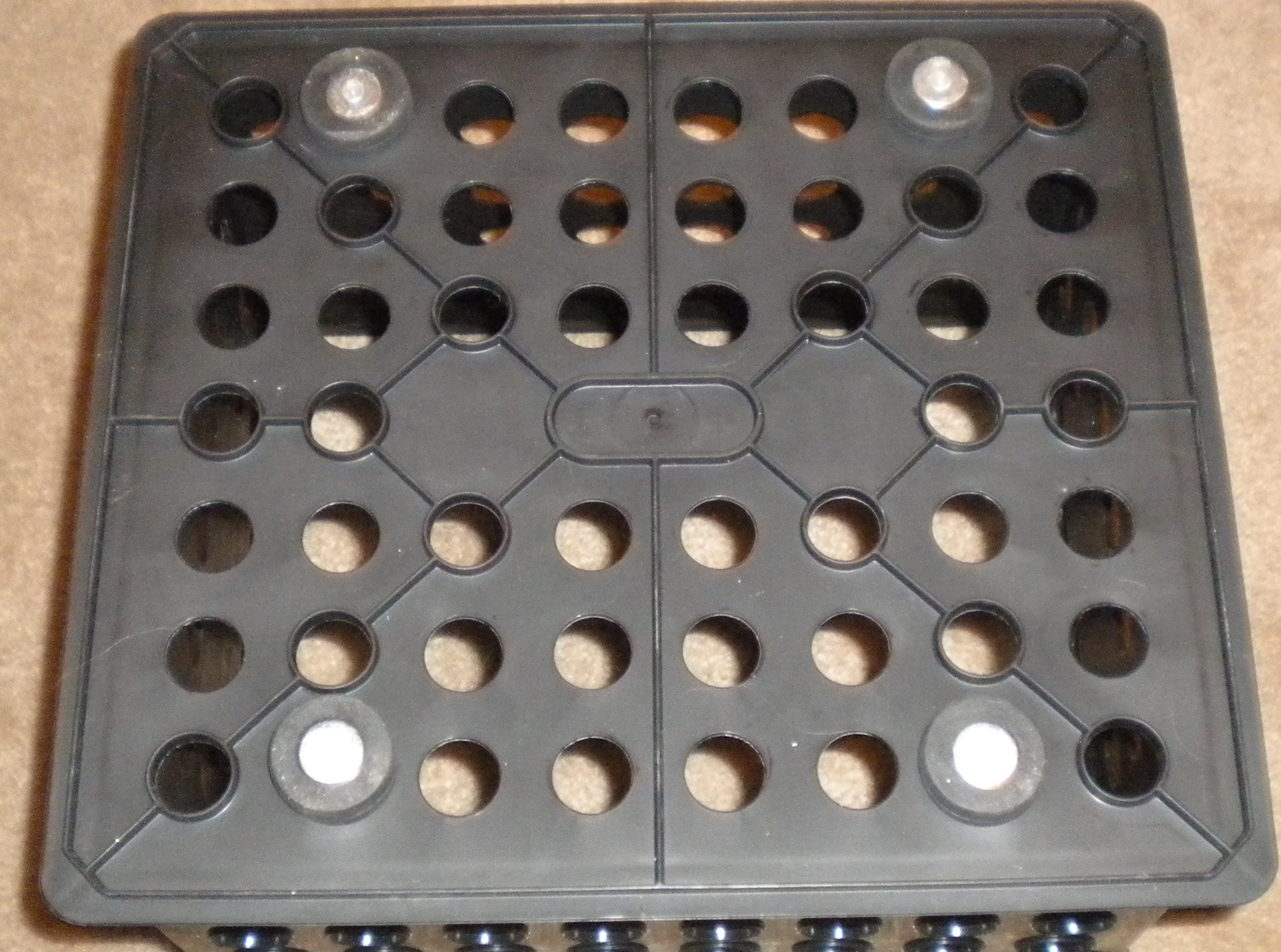 Picture of Attach Magnets to Corners of Crate