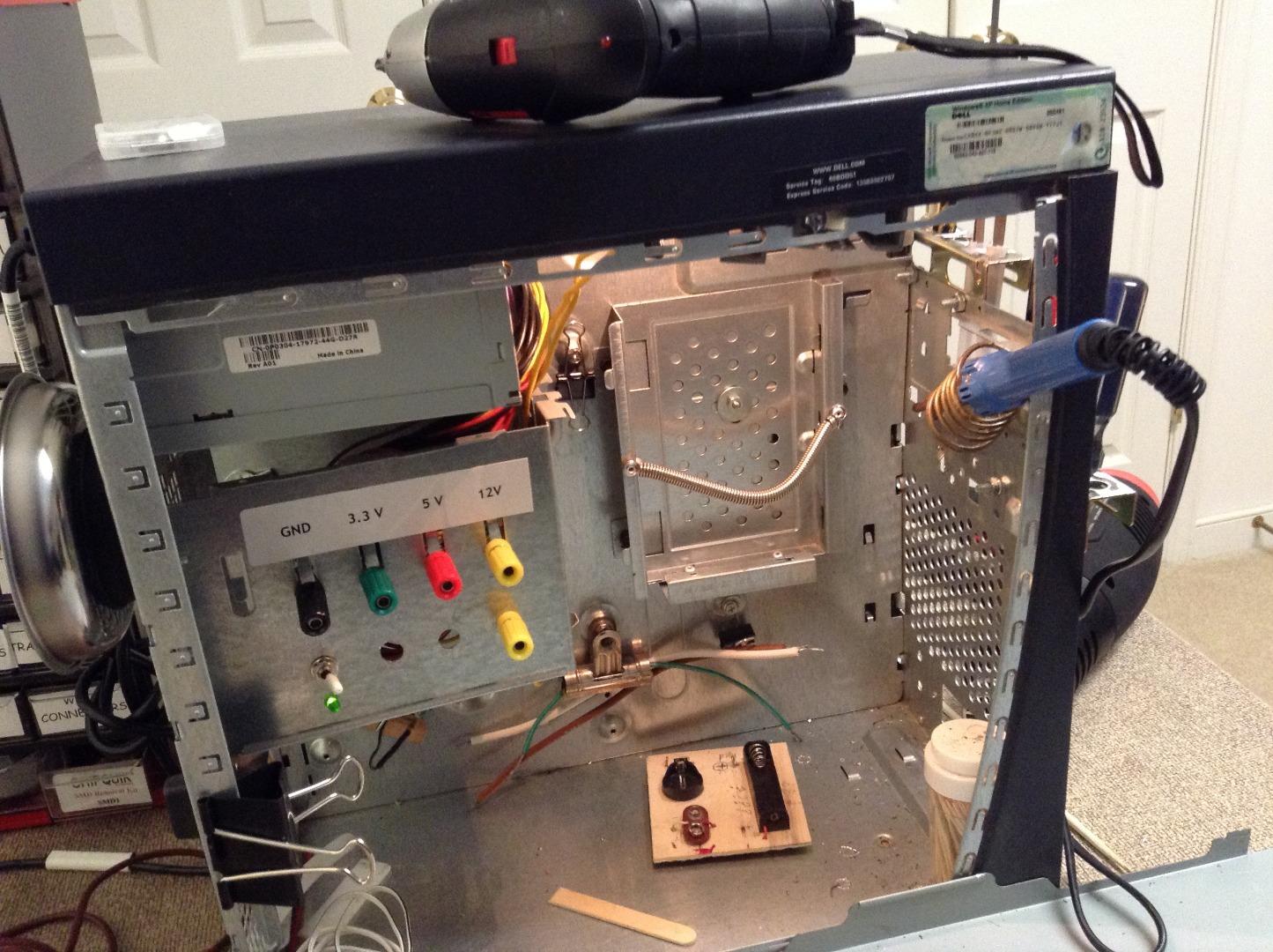 Picture of ATTiny85 Mono Temperature Monitor