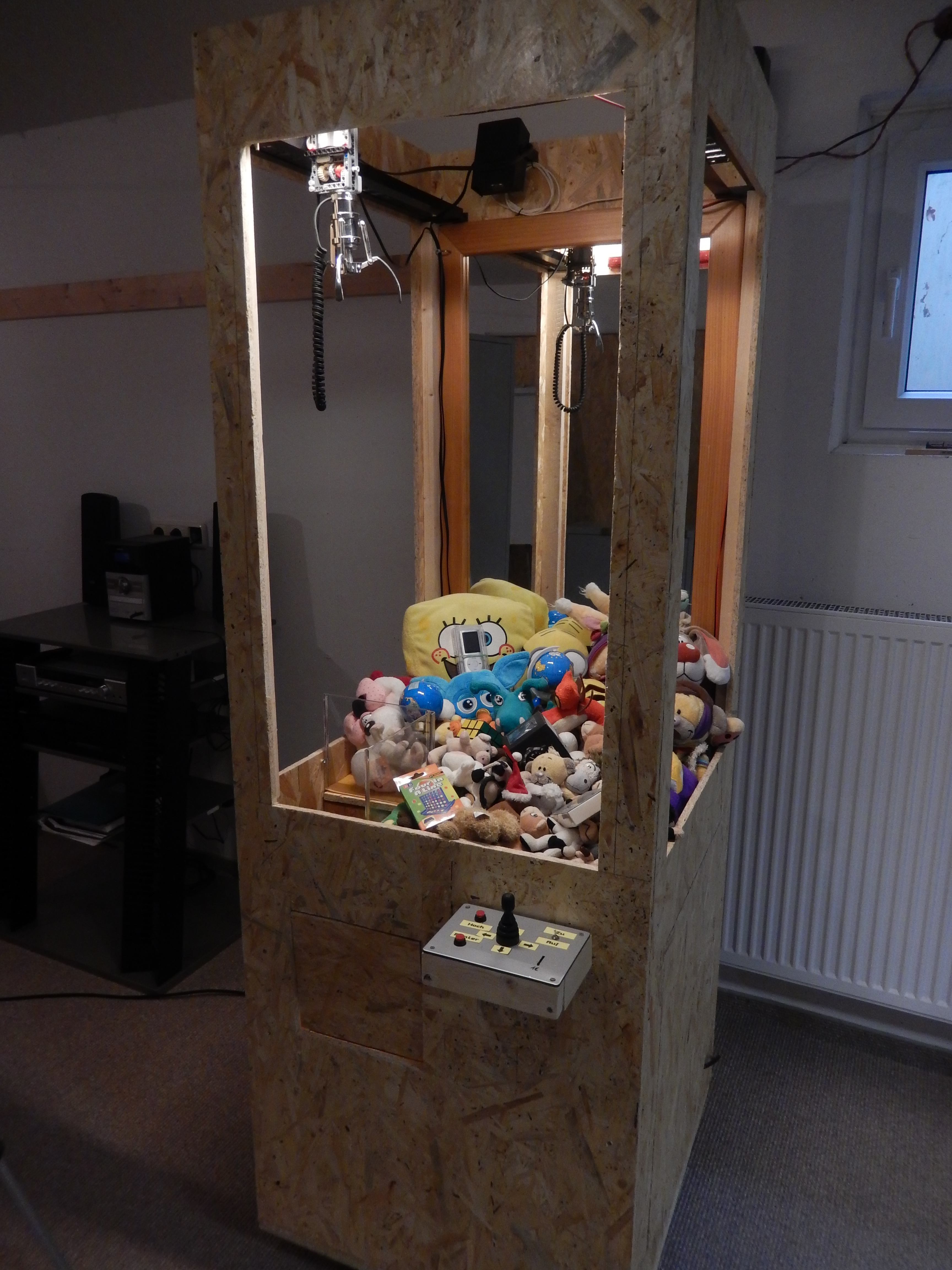 Picture of The History of My Claw Machine
